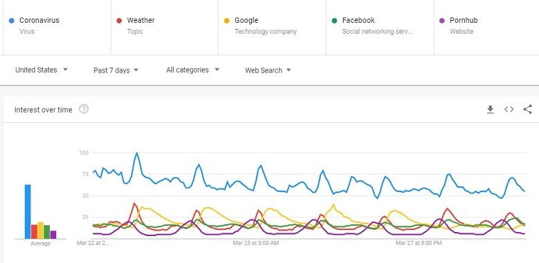 Google search trends during the COVID-19 outbreak