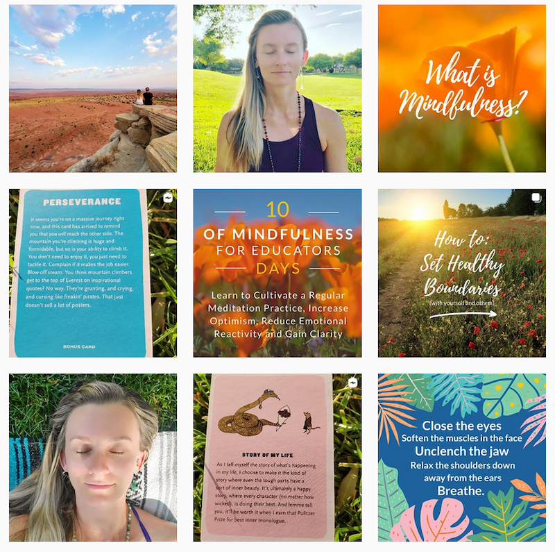 inspiring instagram accounts to follow now covid KristinDamstetter