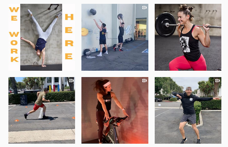 inspiring instagram accounts to follow now covid WORK - FItness