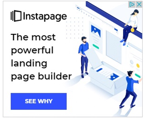 best display ads of 2020-instapage example