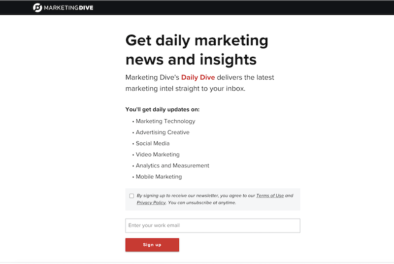 creative newsletter names daily dive alliteration
