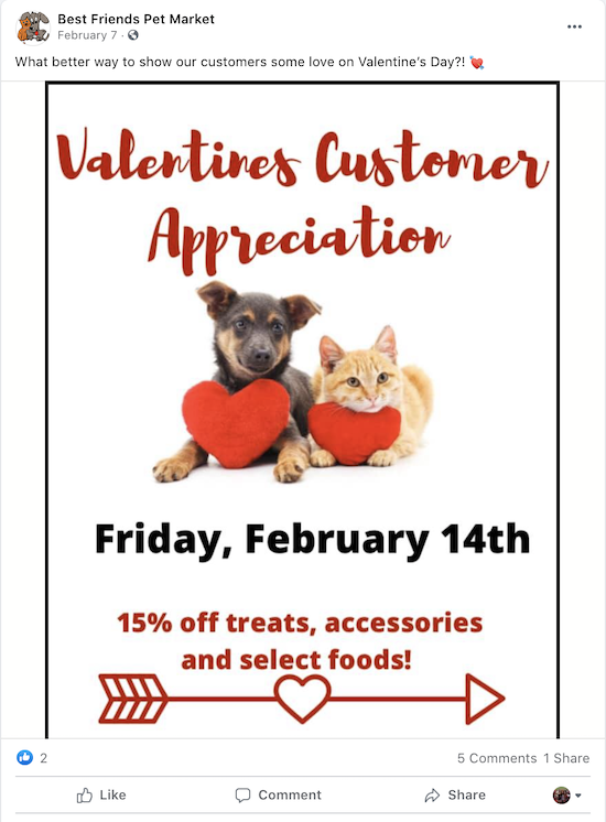 valentine's day marketing ideas customer appreciation