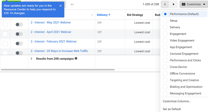 custom column creation for ppc reporting in google ads